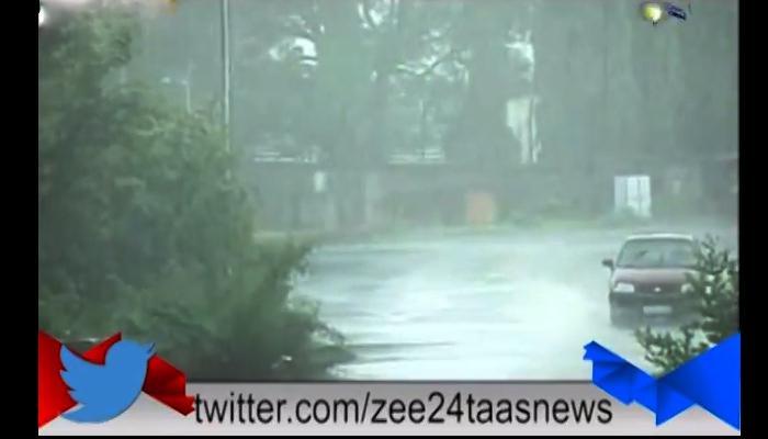 जोरदार पावसामुळे मुंबई-अहमदाबाद महामार्गावर पाणी