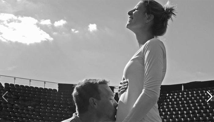 फोटो : साडे चार महिन्यांची गरोदर असतानाही 'ती' विम्बल्डनमध्ये खेळली