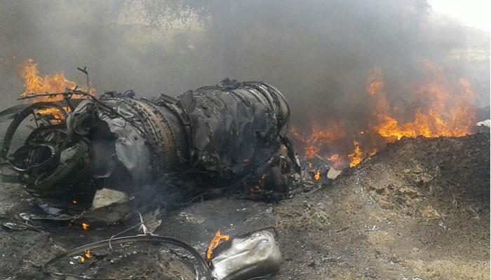 जोधपूरमध्ये वायूसेनेचं मिग २३ विमान कोसळले