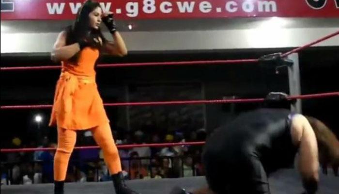 WWEमध्ये सहभागी होणार भारताची 'लेडी खली'