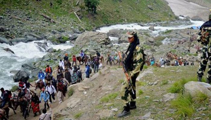 अमरनाथ दहशतवादी हल्ला, देशात सर्वत्र हाय अलर्ट