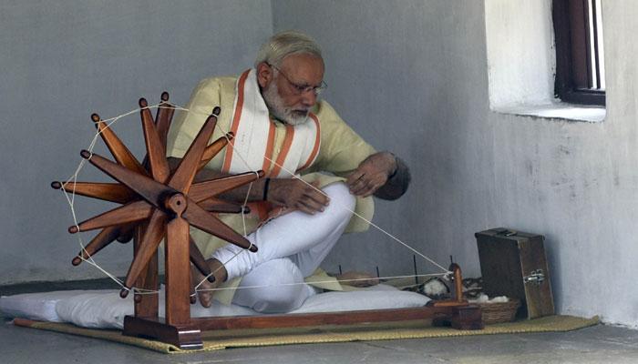 'मोदी म्हणजे दुसरे गांधीजी'