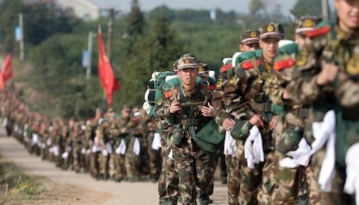 चीनने तिबेटमध्ये जमा केला हजारो टन हत्यारांचा साठा