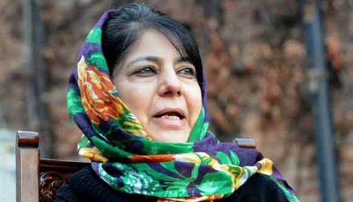काश्मीरप्रश्नी अमेरिकेनं मध्यस्थी केल्यास सीरियाप्रमाणे परिस्थिती होईल- मेहबूबा मुफ्ती
