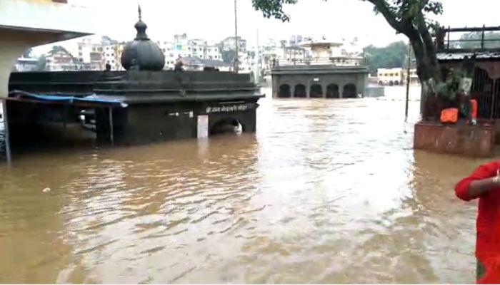 नाशिकमध्ये पाऊस सुरूच, गोदाकाठच्या गावांना सतर्कतेचा इशारा