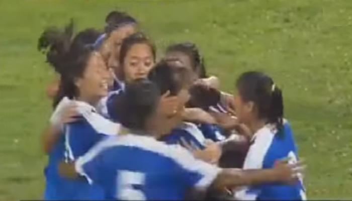 भारतीय महिला फुटबॉल संघाचा मलेशियावर विजय