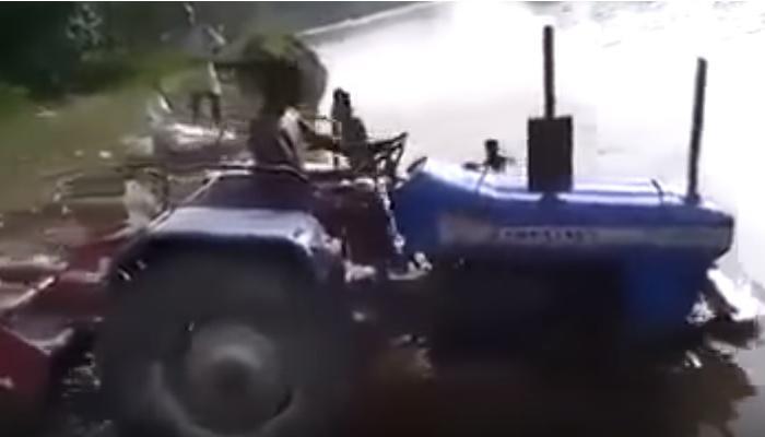 या ट्रॅक्टर ड्रायव्हरने जे केलं, तसे कधीही करू नका