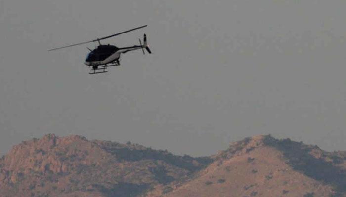अयोध्येतील 'त्या' वादग्रस्त जागेवरुन हेलिकॉप्टरचे उड्डाण