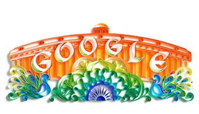 भारताच्या स्वातंत्र्य दिनानिमित्त गुगलचं अनोखं डुडल