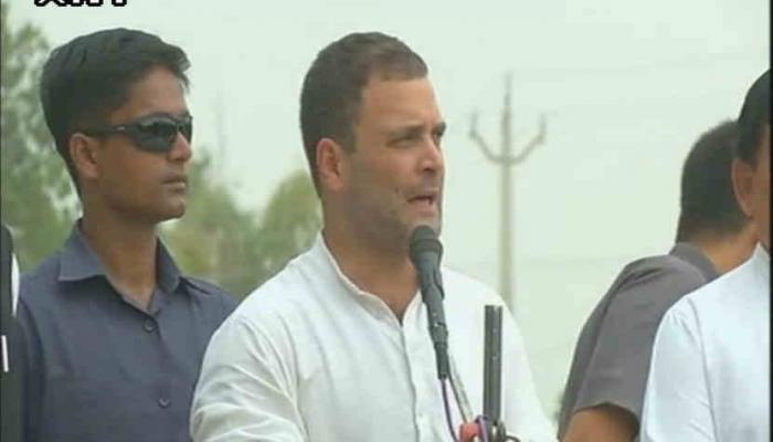 राहुल गांधींचे भाषण ५ मिनिटे, त्यात दोन मोठ्या चुका