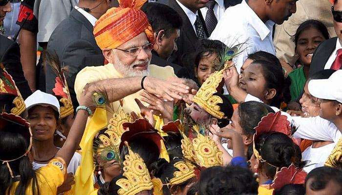 भारतीय स्वातंत्र्य दिन उत्साहात साजरा