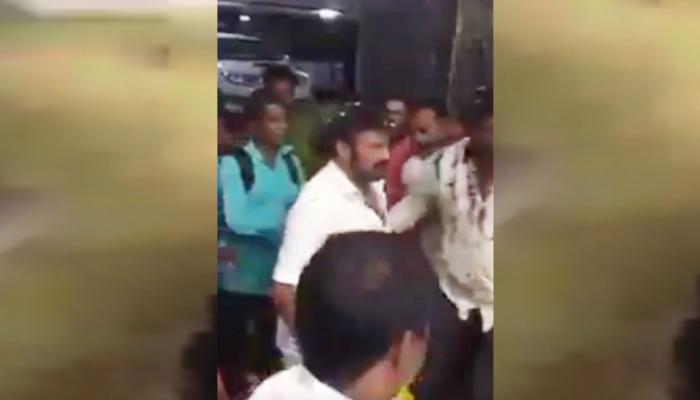 Viral Video: या अभिनेत्याचा राग पुन्हा अनावर! सगळयांसमोर फॅनला 'थप्पड'