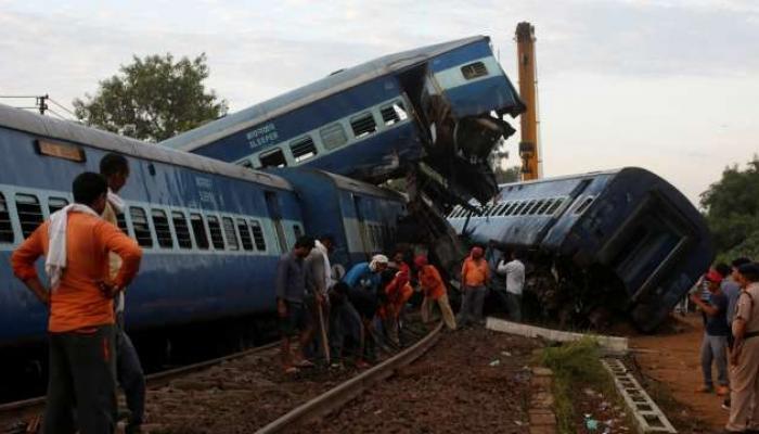 पाच वर्षात देशात ५८६ रेल्वे अपघात