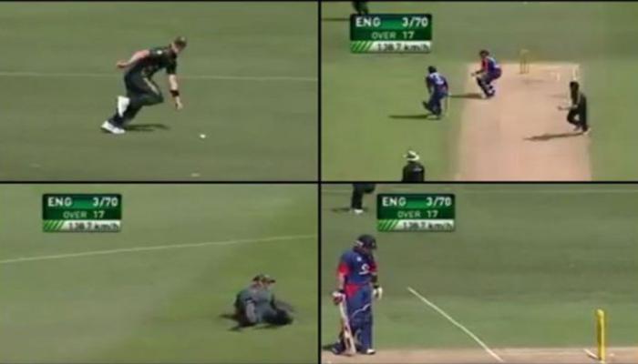 VIDEO : क्रिकेटच्या इतिहासातील सर्वात विचित्र रनआऊट, गुगलच्या सर्चमध्ये नं. १