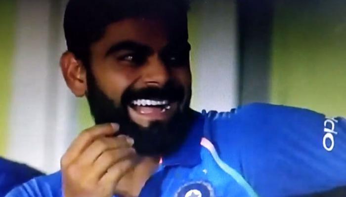 video : मैदानावरील ते दृश्य पाहून विराटलाही हसू आवरले नाही