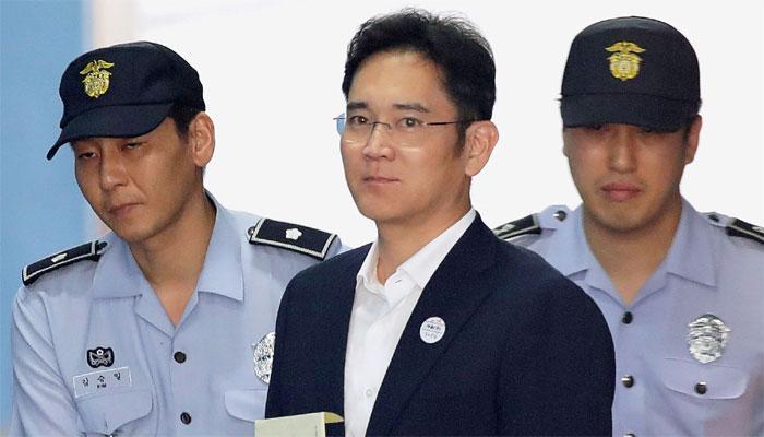 'सॅमसंग' कंपनीच्या वारसदाराला पाच वर्षांचा तुरुंगवास