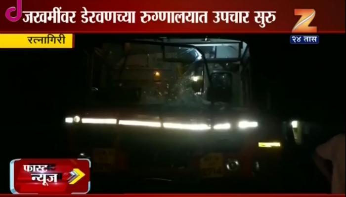 मुंबई-गोवा महामार्गावर एसटीची गाडीला धडक, एकाचा मृत्यू