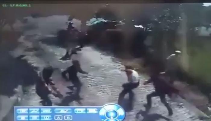 VIDEO: सिनेमातील दृश्याप्रमाणे त्यांनी केला गोळीबार आणि कैदी झाला पसार