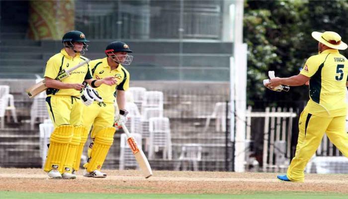 सराव सामन्यात ऑस्ट्रेलियानं भारताला हरवलं