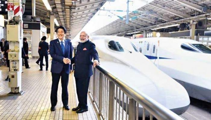 बुलेट ट्रेनसाठी फक्त ०.०१ टक्के व्याजदरावर जपानने दिलं कर्ज