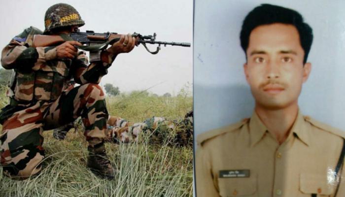 पाकिस्तानकडून पुन्हा शस्त्रसंधीचं उल्लंघन, बीएसएफ जवान शहीद