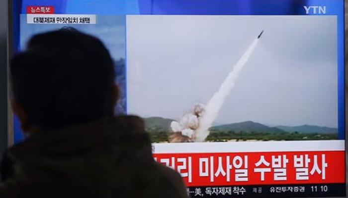 धमकीनंतर लगेचच उत्तर कोरियाने प्रक्षेपित केले क्षेपणास्त्र