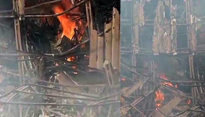 'आग' सिनेमाचे प्रथम शूटिंग झालेला आर के स्टुडिओ आगीच्या भक्ष्यस्थानी