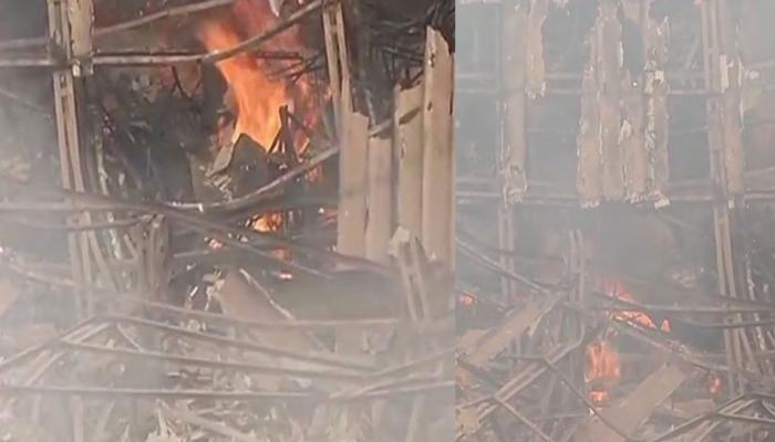 आर.के.स्टुडिओला लागलेल्या आगीत 'हा' स्टेज झाला खाक