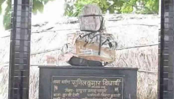 शहीद मुलाच्या स्मारकासाठी बापाने जमीन विकली