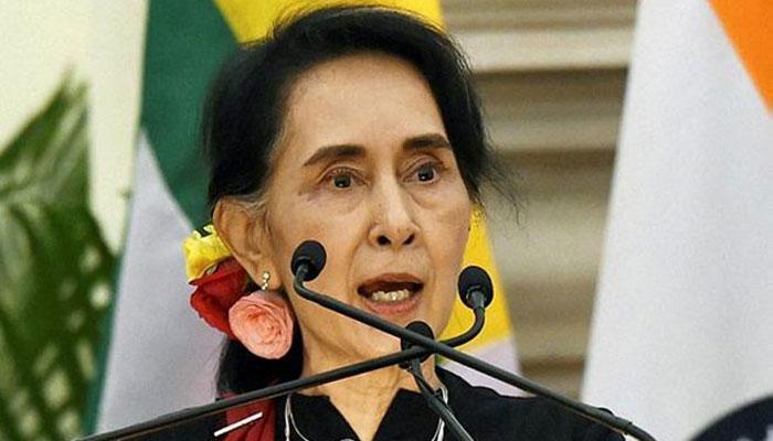 म्यानमारमधील रोहिंग्या मुस्लिमांच्या मुद्द्यावर अखेर सू की यांनी मौन सोडलं