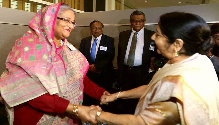 भारत-बांगलादेश मध्ये रोहिंग्या मुस्लीमांबाबत चर्चा नाही