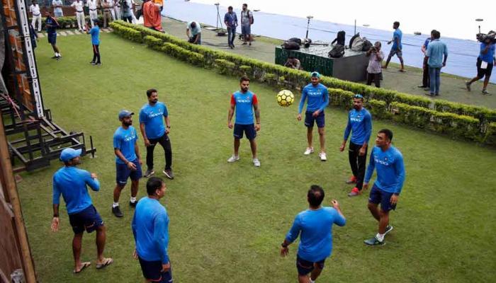 टीम इंडियाच्या प्रॅक्टीसमध्ये पावसाचा अडसर