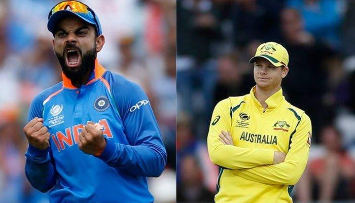 भारत विरुद्ध ऑस्ट्रेलिया वन-डे: ऑस्ट्रेलियासमोर २५३ रन्सचे आव्हान