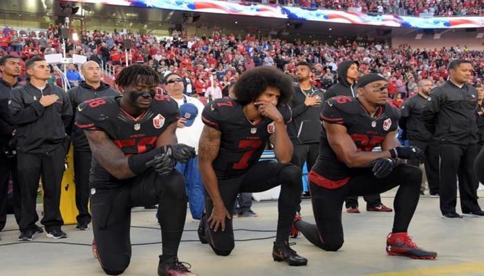 अमेरिकेच्या खेळाडूंनी जाणूनबुजून केला राष्ट्रगीताचा अपमान