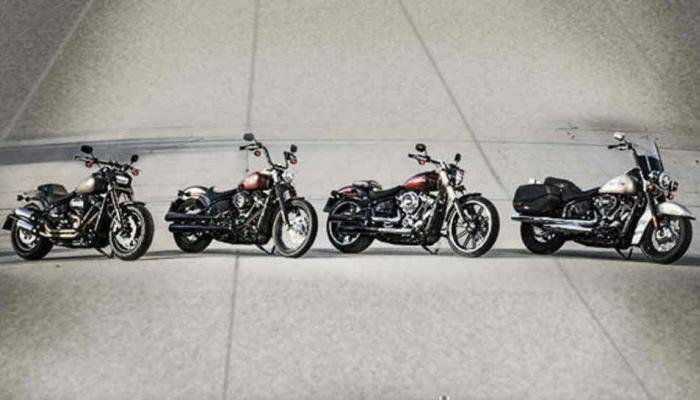 हार्ले डेविडसनच्या चार शानदार बाईक लॉन्च