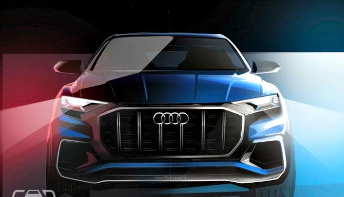लवकरच येणार ऑडीची लेटेस्ट कार Audi Q8 कॉन्सेप्ट