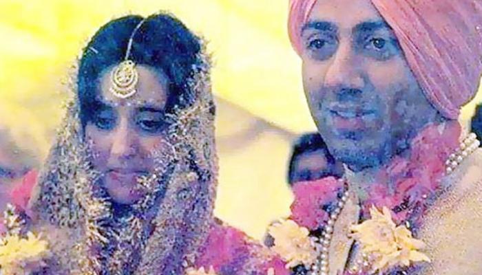 तुम्ही क्वचित पाहिला असेल सनी देओल आणि त्यांच्या पत्नीचा फोटो