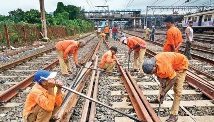 मुंबई : मध्य, हार्बर रेल्वे मार्गावर मेगाब्लॉक