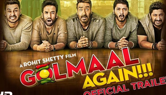 'गोलमाल अगेन'चं रेकॉर्ड, खान मंडळींना अजय देवगनचा धोबीपछाड