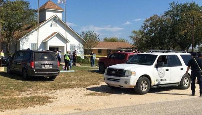 अमेरिकेत चर्चमध्ये गोळीबार, हल्ल्यात २७ जणांचा मृत्यू
