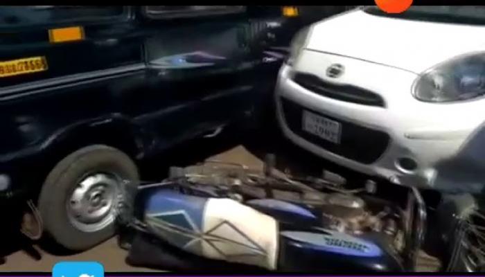 कोल्हापूर-रत्नागिरी महामार्गावर डंपरची अनेक गाड्यांना धडक, १ ठार