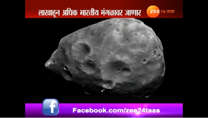 1 लाख 38 हजार 899 भारतीय 'मंगळ'वारीसाठी सज्ज