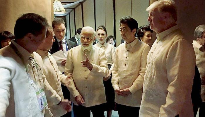 पंतप्रधान मोदी आणि अमेरिकेचे राष्ट्राध्यक्ष ट्रम्प यांच्यात द्विपक्षीय बैठक