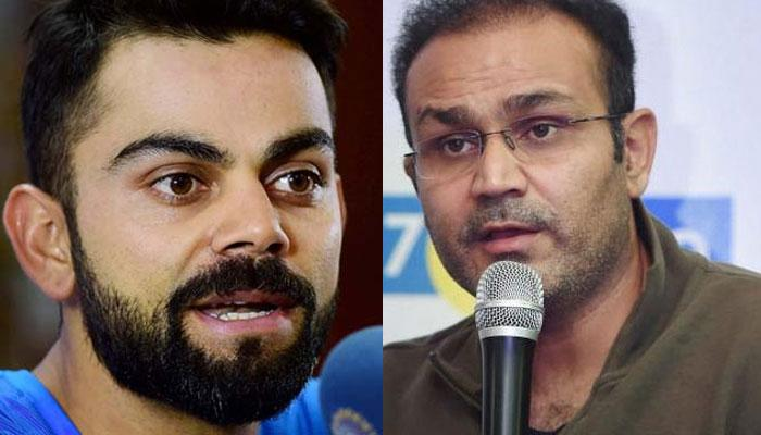 विराटचं ऐकलं गेलं असतं तर मी टीम इंडियाचा कोच असतो - सेहवाग