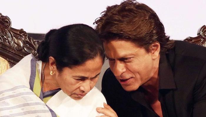 ...आणि ममता बॅनर्जी यांनी शाहरुख खानला दिली लिफ्ट, पाहा व्हिडिओ