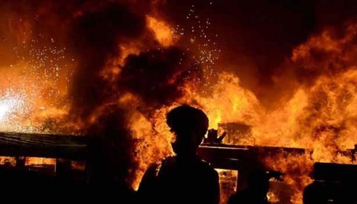 चीनमध्ये भीषण आग, १९ जणांचा होरपळून मृत्यू