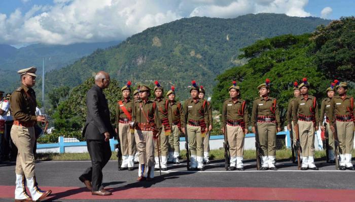 राष्ट्रपतींच्या अरुणाचल भेटीने चवताळले चीन, केला विरोध...