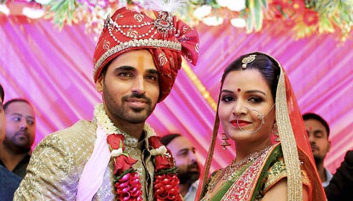 भुवनेश्वर कुमार आणि नुपूर नगरच्या लग्नाचे खास फोटो
