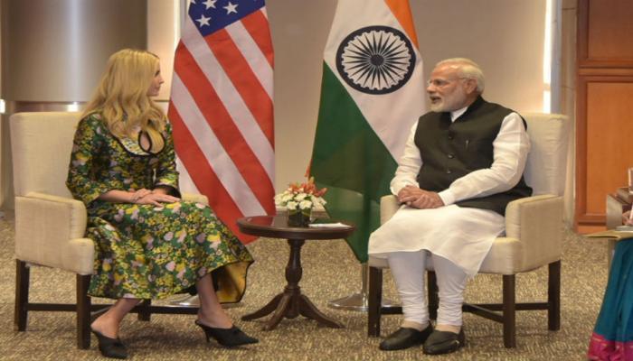 भारत आणि अमेरिकेच्या मैत्रीचा नवा अध्याय, निमित्त इवांका ट्रम्प
