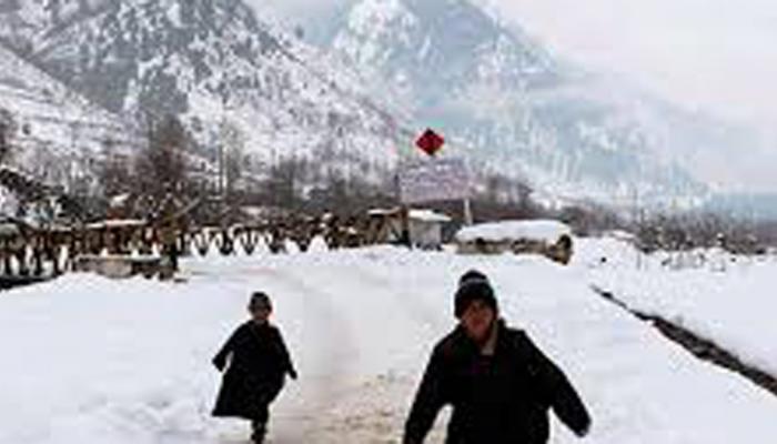 जम्मू-काश्मीरचा पारा शून्याहून खाली उतरला